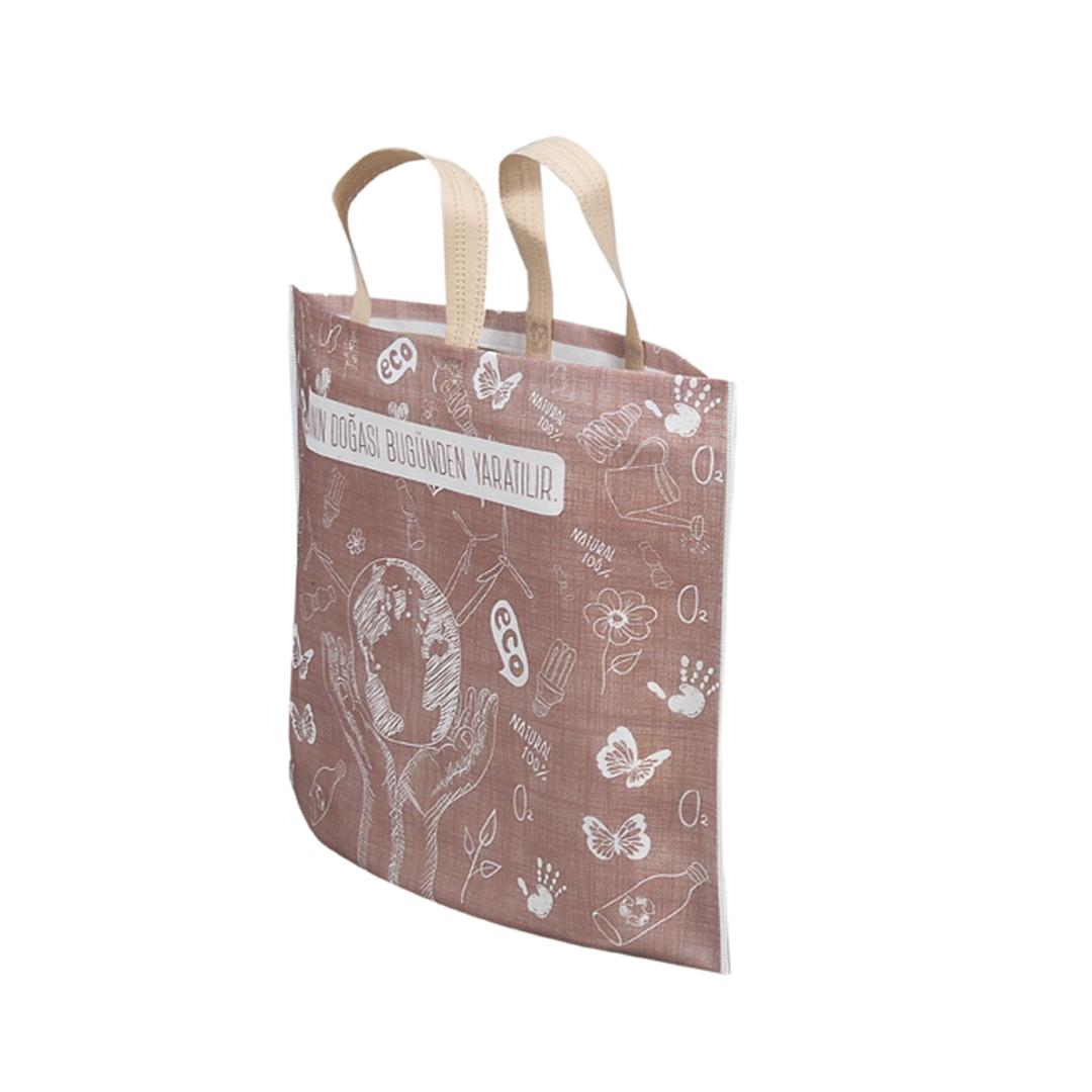 Toptan bez market çantası ve mağaza çantası